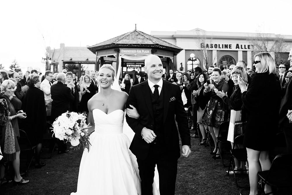 Recessional Wedding Image