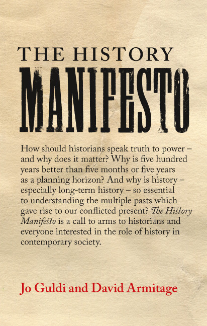 Temporality Matters: The History Manifesto