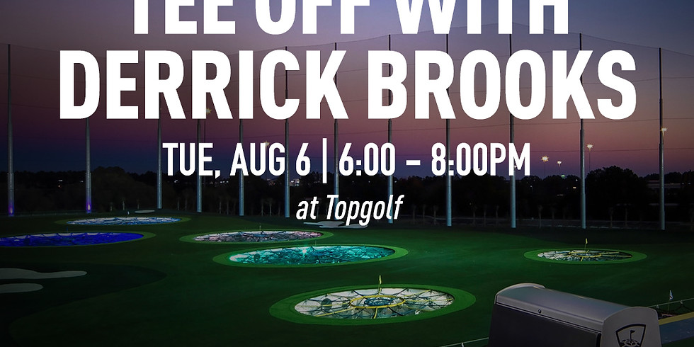 Tee Time with Derrick Brooks