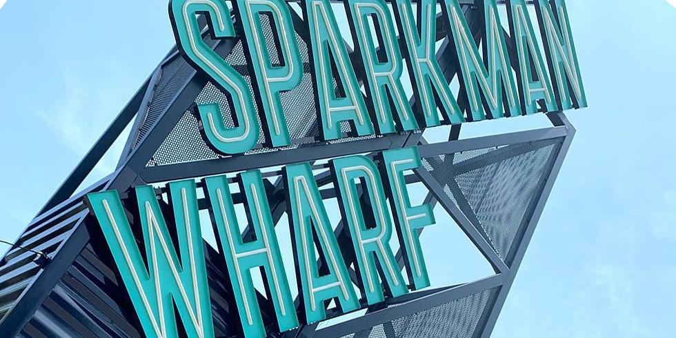 Happy Hour + Live Music at Sparkman Wharf