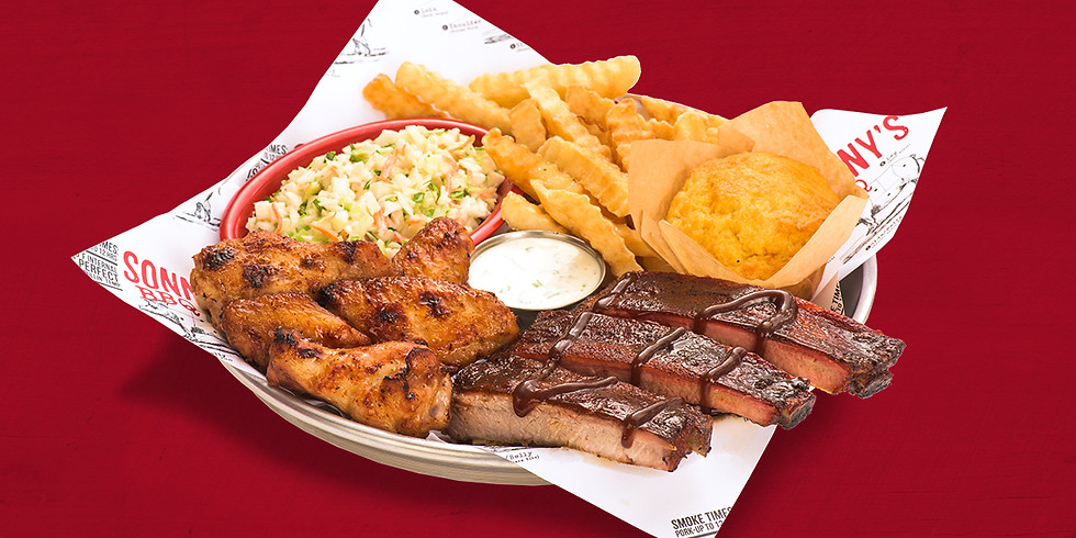 Sonny's Rib and Wing Dinner