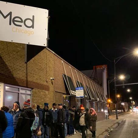 Customers turned away as recreational weed sales wrap up historic first day in Illinois