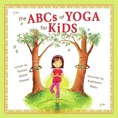 P is for Pretzel in 'The ABCs of Yoga for Kids'