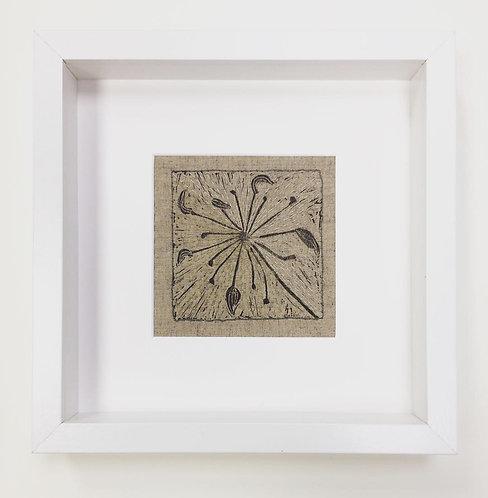 Fennel Seed Pod Framed Series