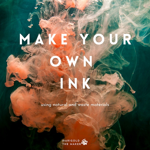 """""""Make Your Own Ink"""" E-book"""