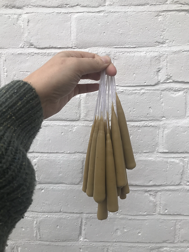 Hand Dipped Tapered Beeswax Candles