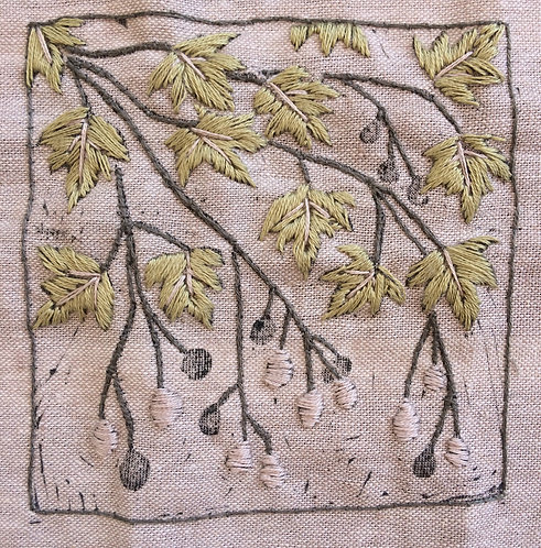 Plane Tree Series Embroidery Kit