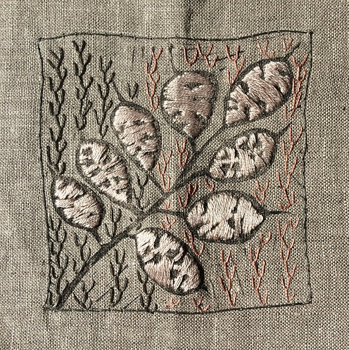 Honesty Seed Embroidery Kit