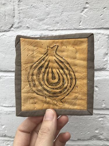 Jolly Onion Coasters