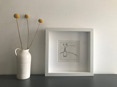 """Vase"" monoprint"