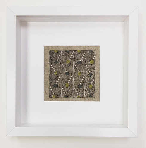 Plane Tree Seed Pod Framed Series