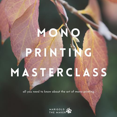 Mono Printing Masterclass