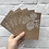 """Thumbnail: Pack of 5 """"Pine Cone"""" Christmas Cards"""