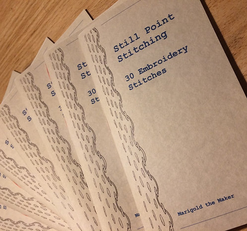 30 Embroidery Stitches Booklet