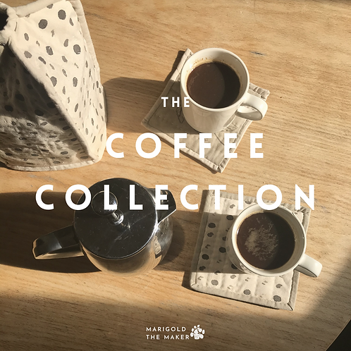 """""""The Coffee Collection"""" Pattern"""