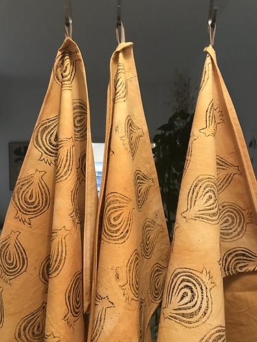 Jolly Onion Tea Towel
