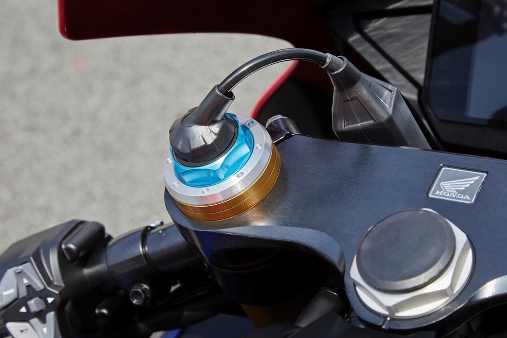 ohlins on the Honda CBR1000RR-R