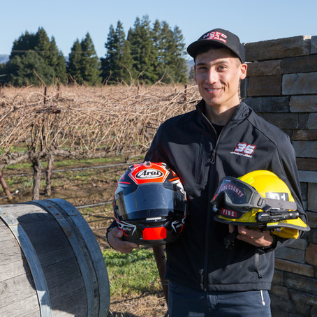Jayson Uribe: Where There's a Smokin' Fast Racer, There's a Firefighter...and Electrician...and...