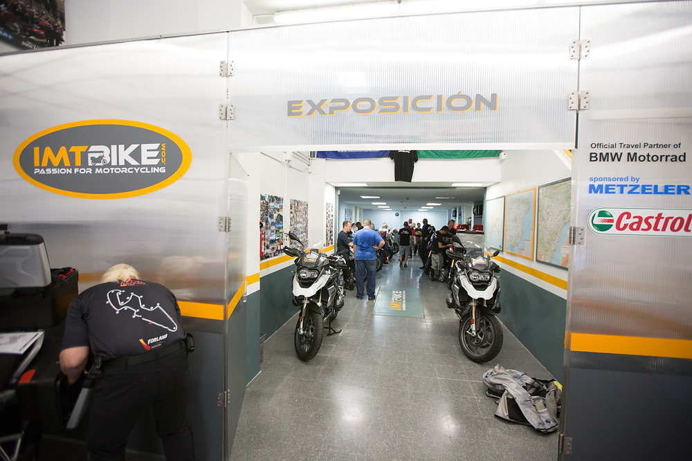 IMT Bike headquarters helping Leod Escapes in 2018
