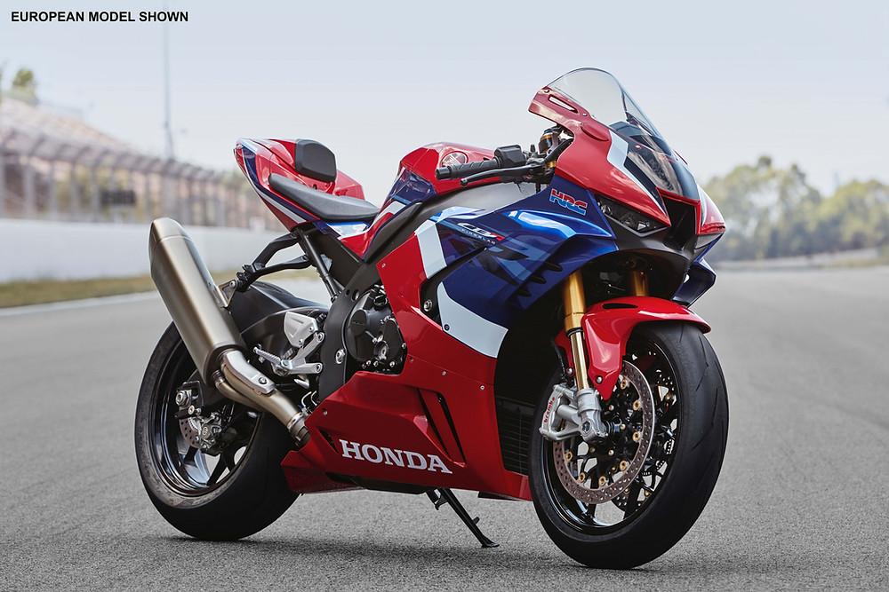 The Honda CBR1000RR-R