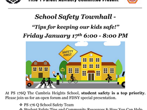 School Safety Townhall - January 17th, 2020