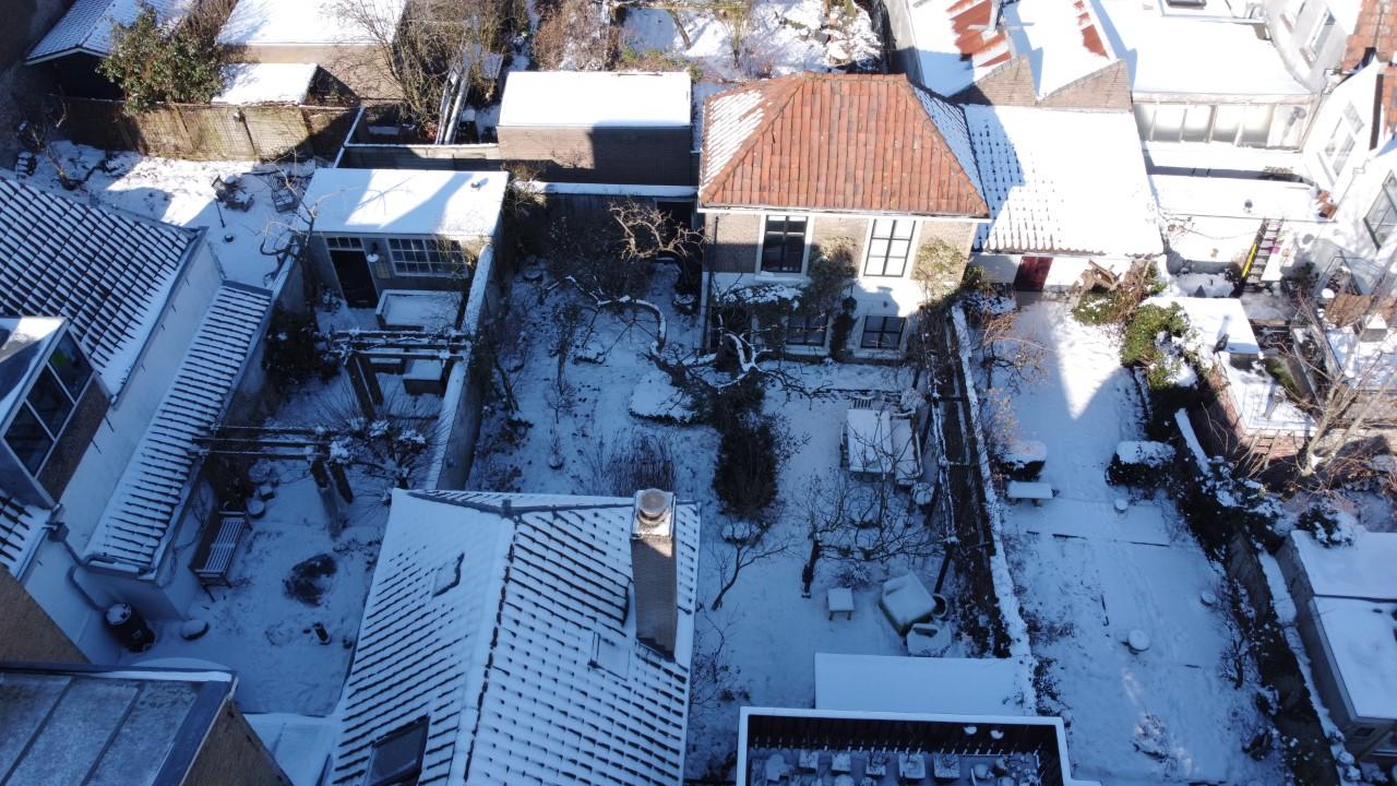 Apple Tree Cottage in winter