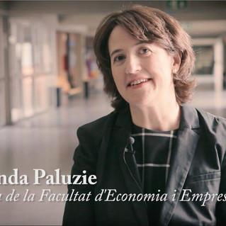 Trobada amb Elisenda Paluzie