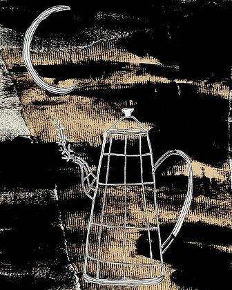 Illustration -Moon Tea-