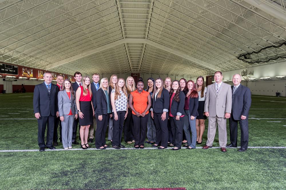 2017 Iowa State Football Athletic Training Staff