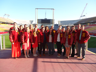 2015 Iowa State Athletic Training Program Awards Banquet