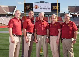 Iowa State Athletics Partners with McFarland Clinic Sports Medicine