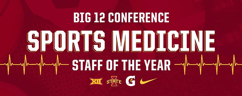 Iowa State Sports Medicine Staff of the Year