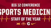 Iowa State Named Big 12 Conference Sports Medicine Staff of the Year