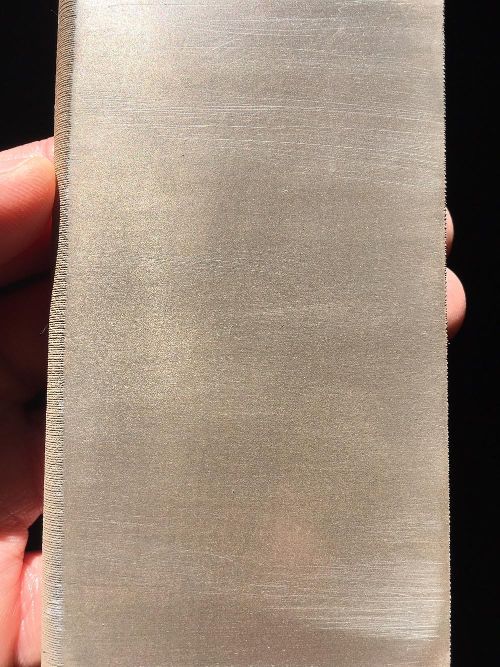Bronze 3D Druck poliert