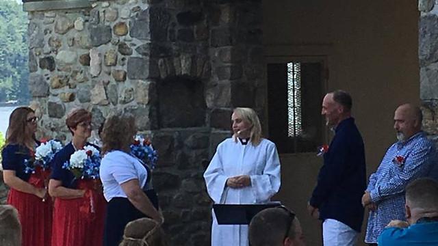 Donna & Mel's wedding