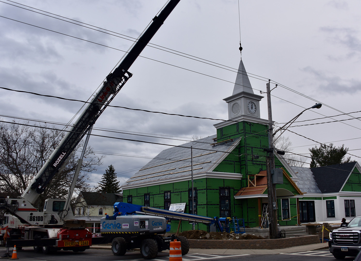 The Steeple is Placed
