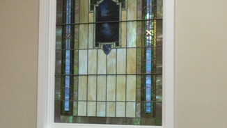 Stained Glass Window Salvaged
