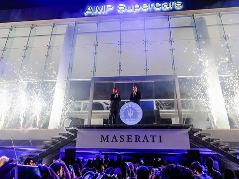 Maserati arrives in India with AMP Group