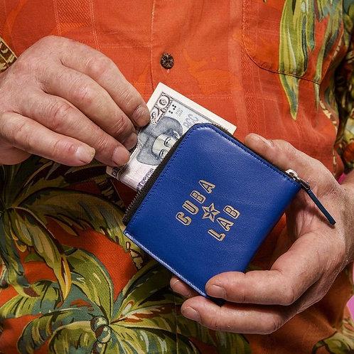Zipper Wallet - Blu Royal