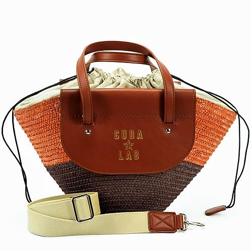 Habanera Bag - Orange & Brown