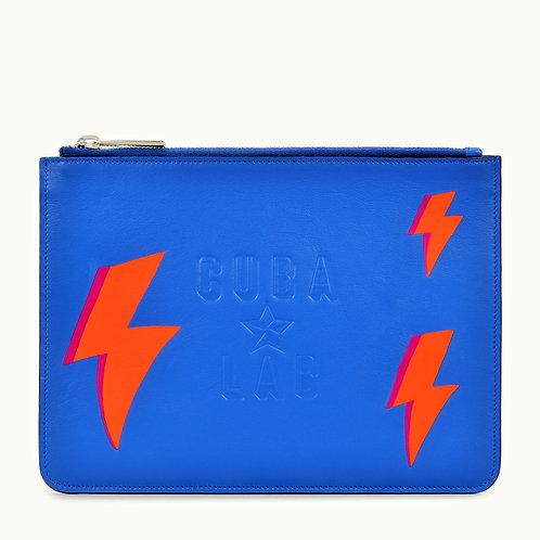 "Lerather Bag ""Rayo Azul"""