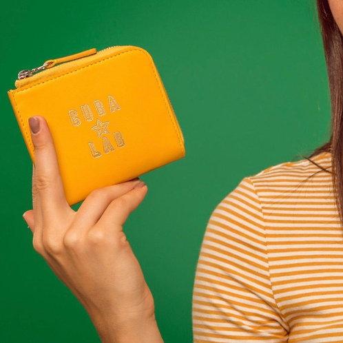 Zipper Wallet - Yellow