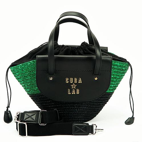 Habanera Bag - Black & Green