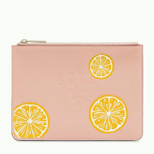 "Leather Bag ""Limòn Rosado"""