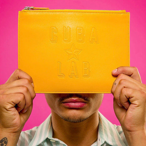 Leather Bag - Yellow
