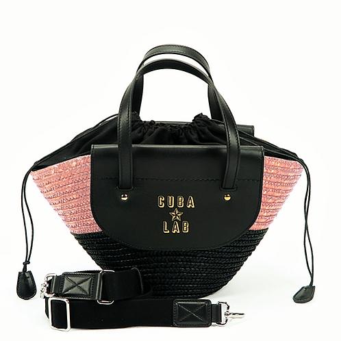 Habanera Bag - Black & Pink