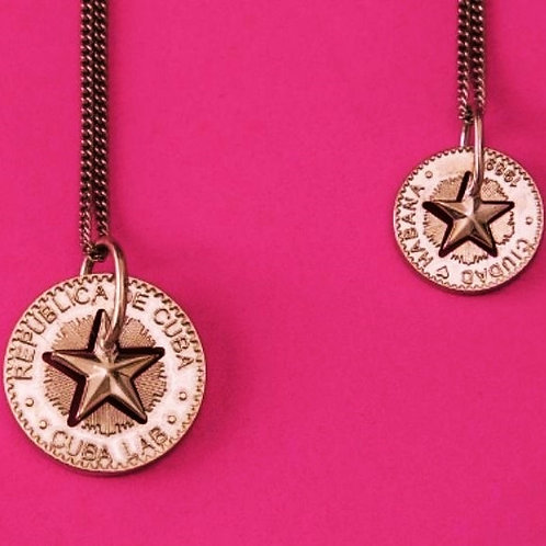 Lucky Star Necklace in Silver 925 - (Pendant 18mm)
