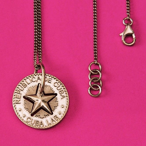 Lucky Star Necklace in Silver 925 - (Pendant 24mm)