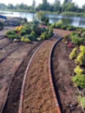 Мощение тротуарного клинкера, озеление участка, монтаж пирса,ландшафт, дренаж участка — Polestar