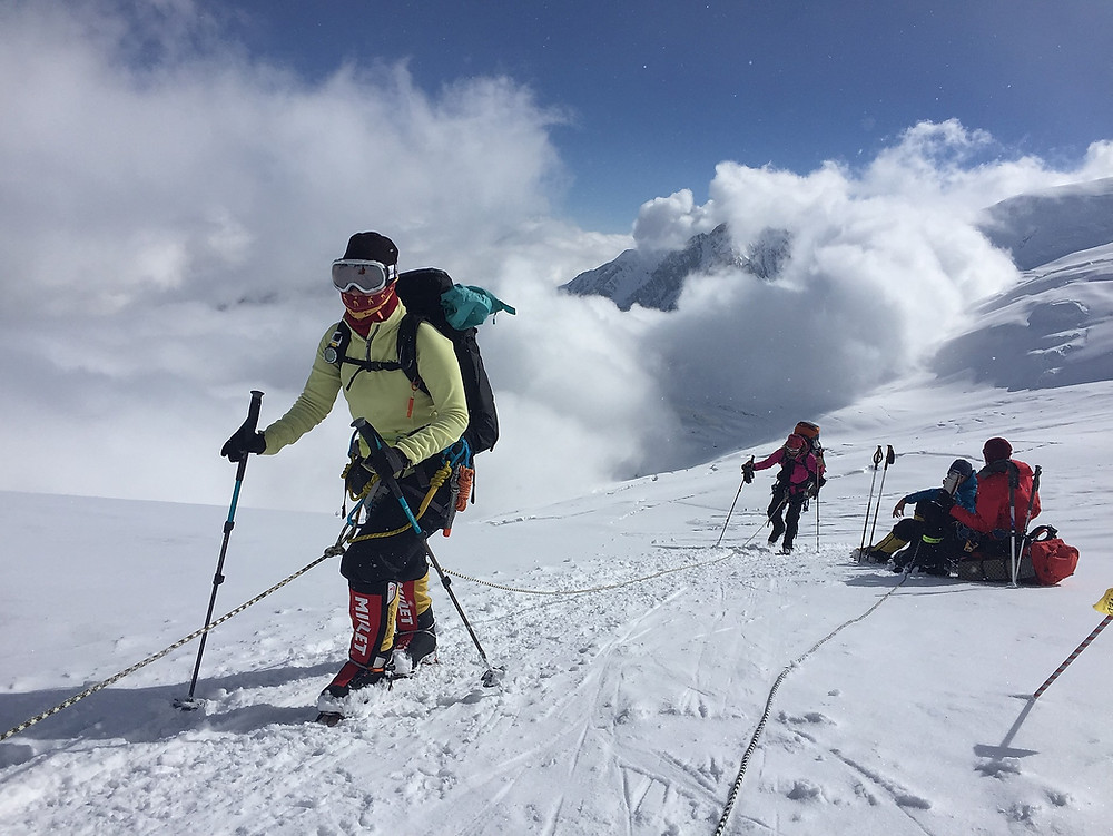 Треккинг к Пику Ленина | skitour.club | Блог Сергея Чеботова